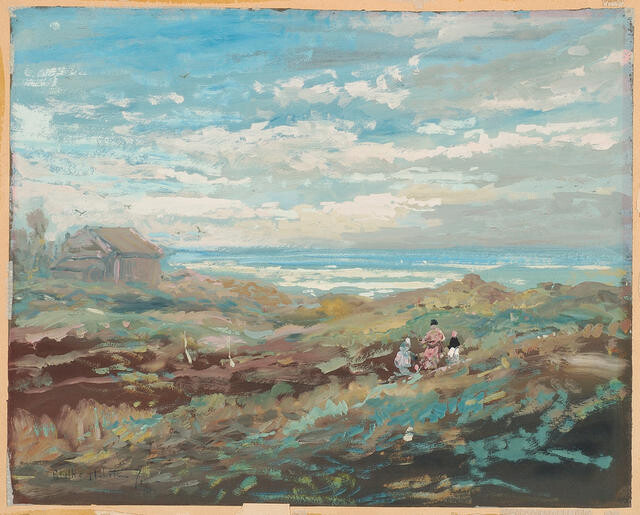 Near Pleasant Point 1929