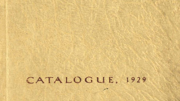 CSA catalogue 1929