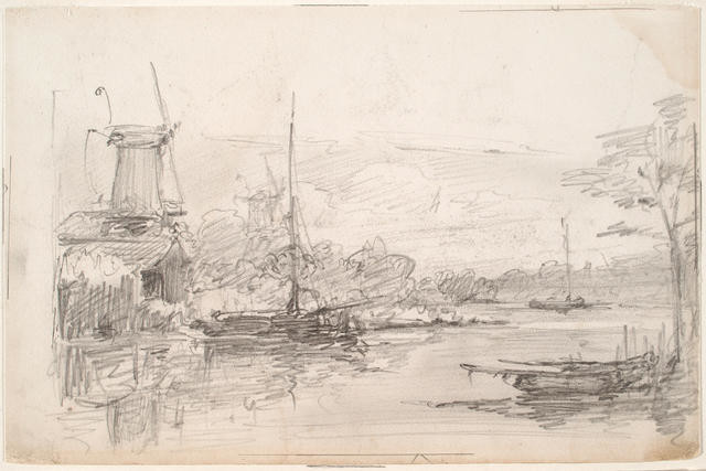 Dutch River Scene