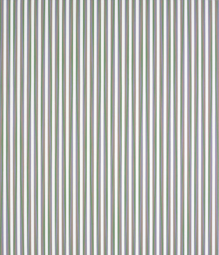 Bridget Riley Vapour 2 2009. Acrylic on linen. Private collection. © Bridget Riley 2017. All rights reserved