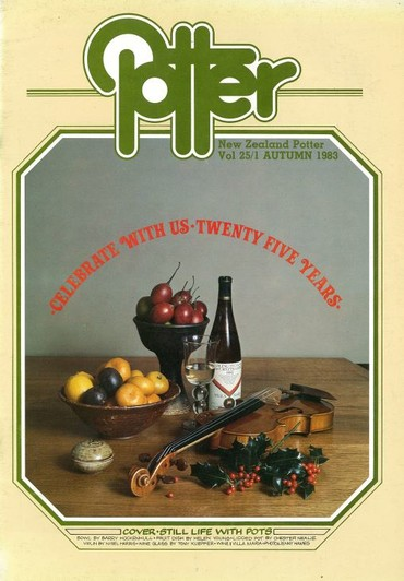 New Zealand Potter volume 25 number 1, Autumn 1983