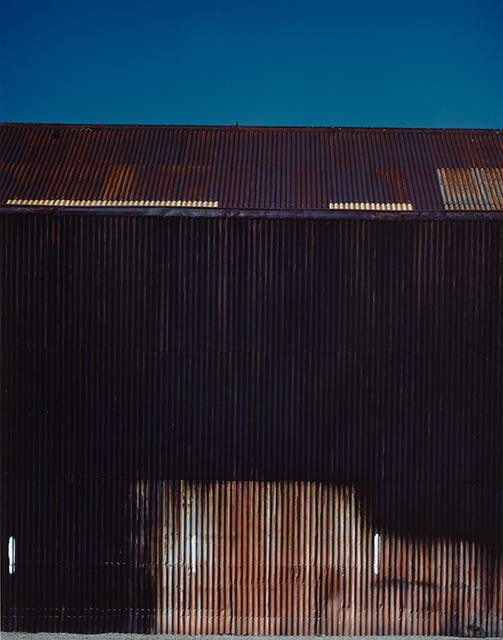 Black Iron Shed, (Print by Real Pictures Ltd Akld)