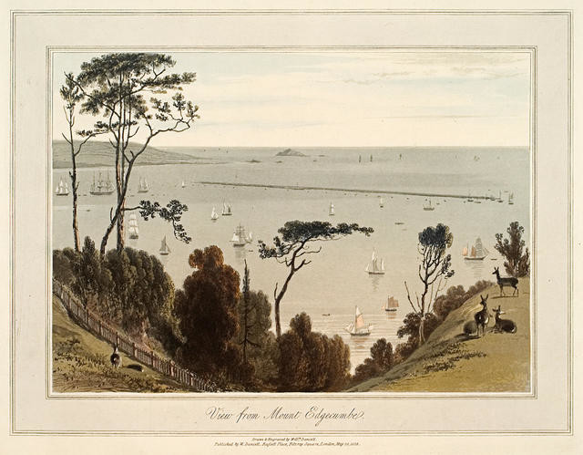 View From Mount Edgecumbe