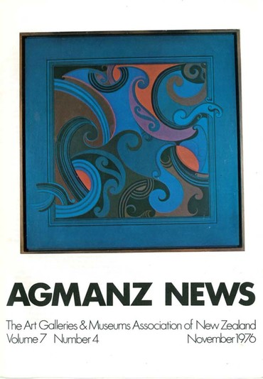AGMANZ Volume 7 Number 4 November 1976