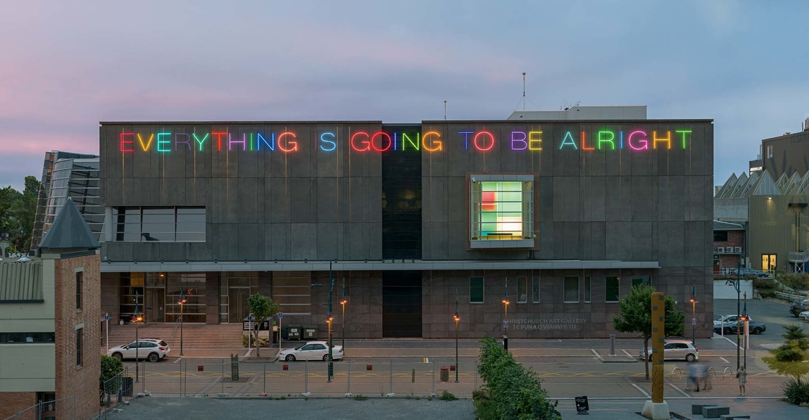 Martin Creed Work No. 2314 2015. Neon. Commissioned by the Christchurch Art Gallery Foundation, gift of Neil Graham (Grumps) 2015