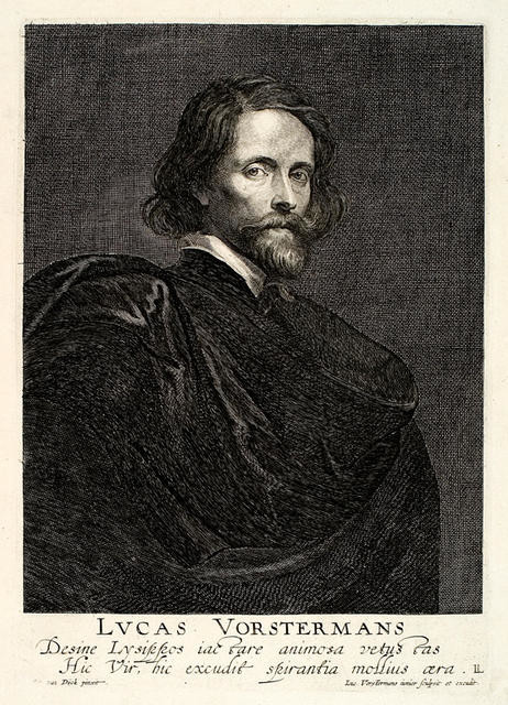Lucas Vorstermans (The Elder) After Sir Anthony Van Dyck