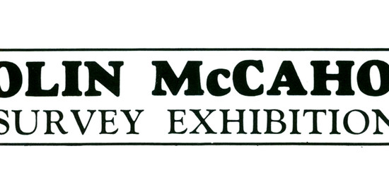 Colin McCahon Survey Exhibition