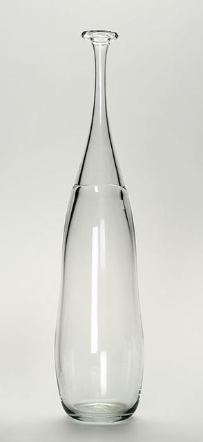 Handblown Glass Bottle