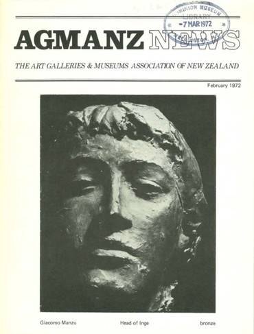 AGMANZ News Volume 2 Number 12 February 1972
