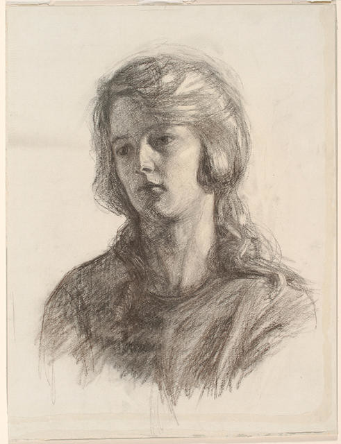 Head of a girl (Portrait)
