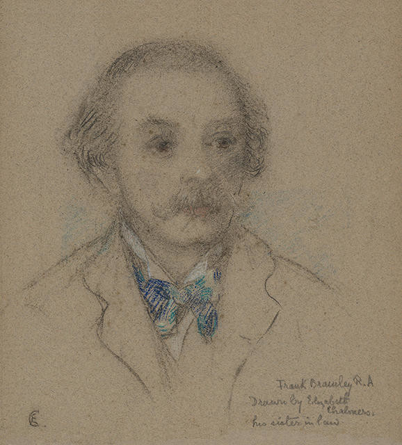 Portrait of Frank Bramley