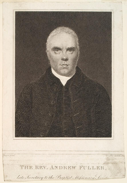 The Rev. Andrew Fuller, Late Secretary Of The Baptist Missionary Society