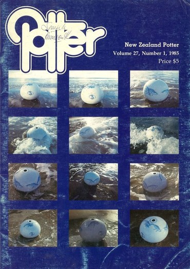 New Zealand Potter volume 27 number 1, 1985