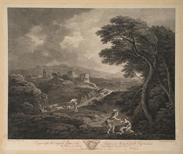Landscape Engraved after the Original Picture in the Possession of James Connell Esq