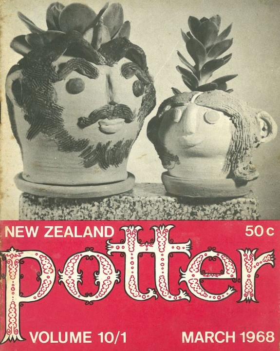New Zealand Potter volume 10 number 1, March 1968