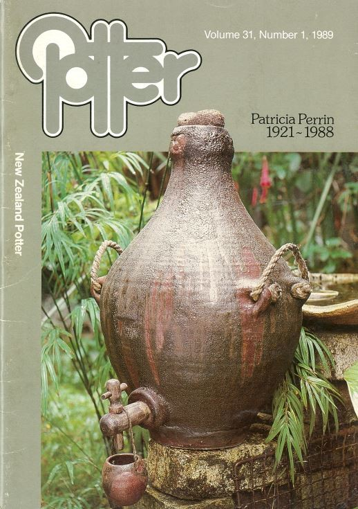 New Zealand Potter volume 31 number 1, 1989