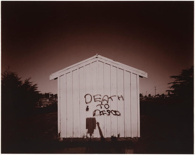 Shed, Ruru Lawn Cemetery, Christchurch, 1978