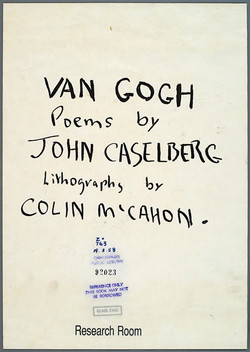 Van Gogh: Poems by John Caselberg