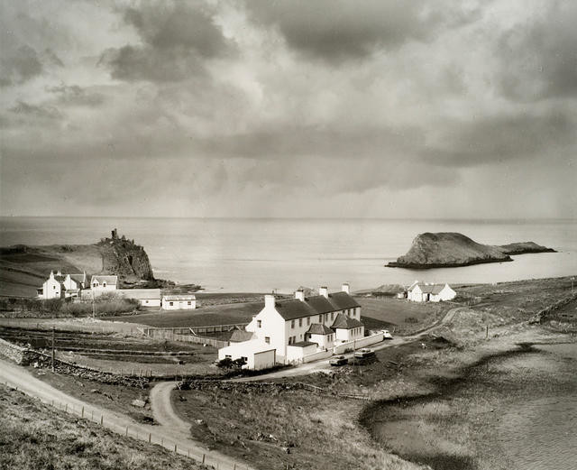 Coastguard Cottages at Duntulm Bay, Skye