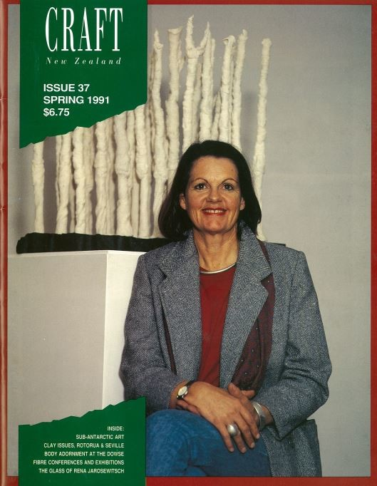 Craft New Zealand issue 37, Spring 1991
