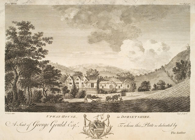 Upway House in Dorsetshire (A Seat of George Gould Esq)