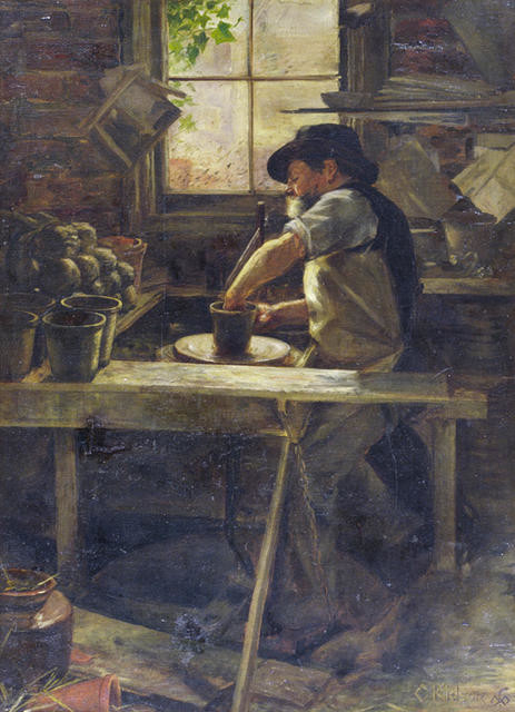 Luke Adams, Potter 1896