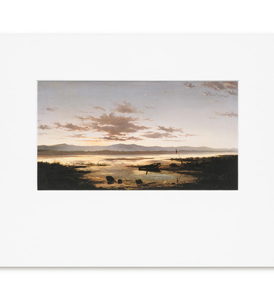 Shades of Evening: John Gibb - Print