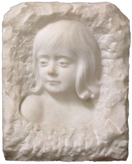 A Fragment In Marble (Portrait of Eva Alice Brassington)