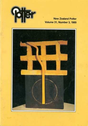 New Zealand Potter volume 31 number 3, 1989