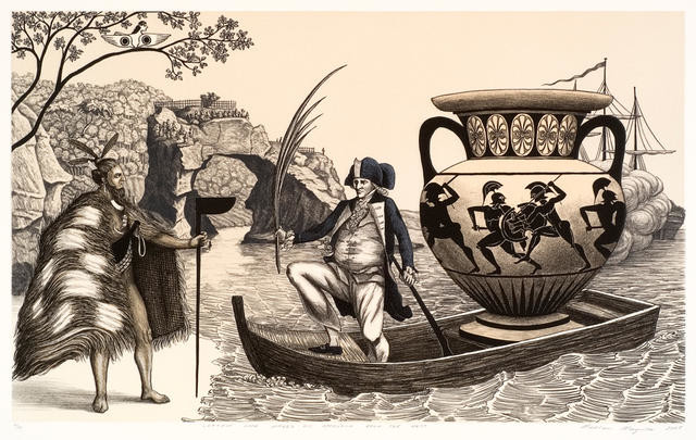 Captain Cook makes his Approach from the West