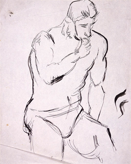 Untitled [figure of a man]