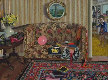 Jacqueline Fahey The Portobello Settee 1974. Purchased with assistance from the Friends of Christchurch Art Gallery Te Puna o Waiwhetu, 2017
