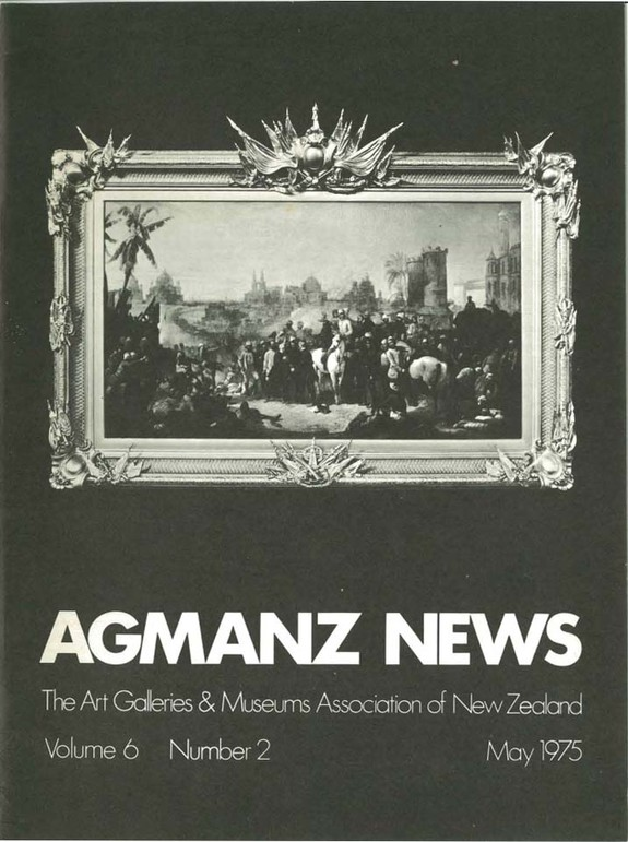 AGMANZ Volume 6 Number 2 May 1975