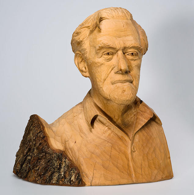 Untitled (Portrait bust of Bill Sutton)