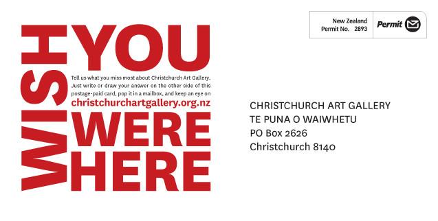 Wish you were here    | Christchurch Art Gallery Te Puna o