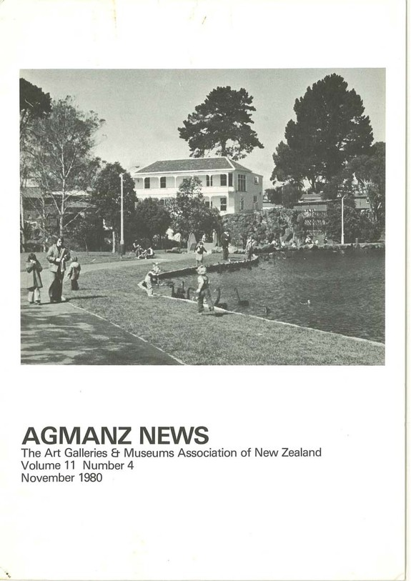 AGMANZ News Volume 11 Number 4 November 1980