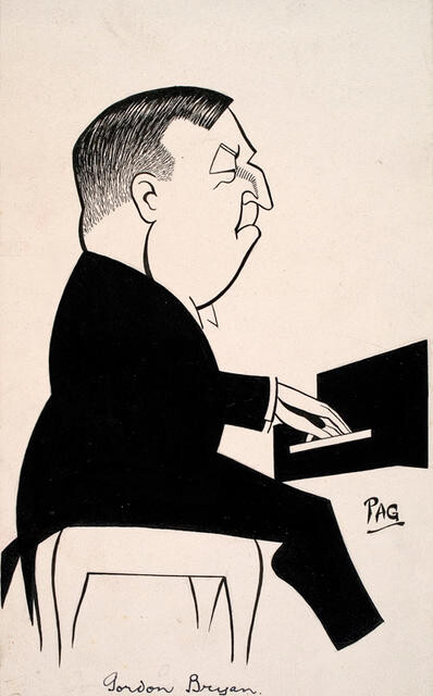 Gordon Bryan by Leo Bensemann