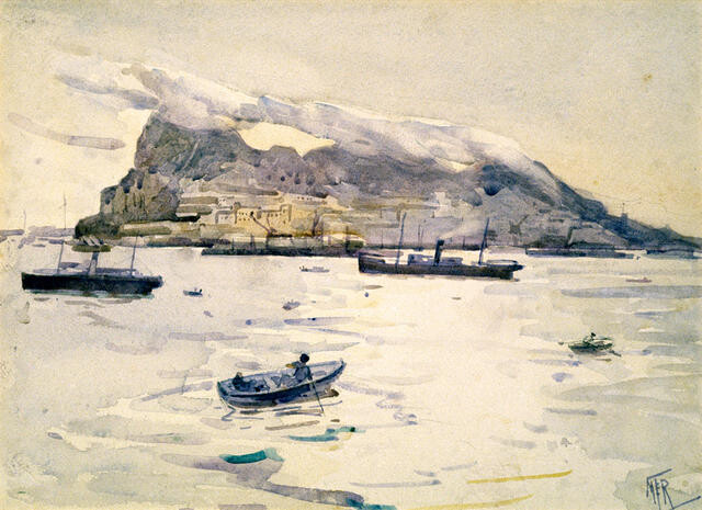 Winter Morning, Gibraltar