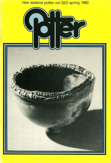 New Zealand Potter volume 22 number 2, Spring 1980