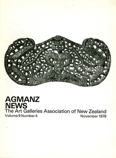 AGMANZ News Volume 9 Number 4 November 1978