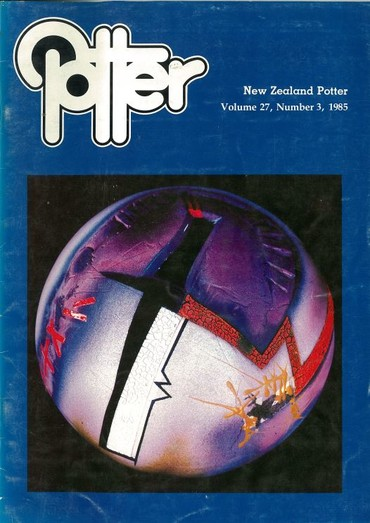 New Zealand Potter volume 27 number 3, 1985