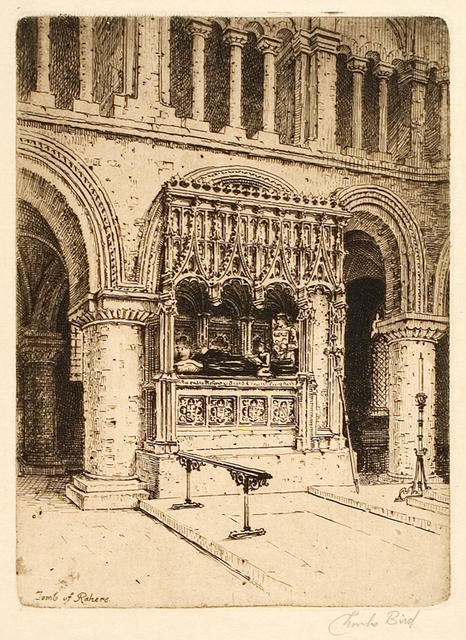 Tomb Of Rahere Series Title - London's Oldest Church, St Bartholomew The Great
