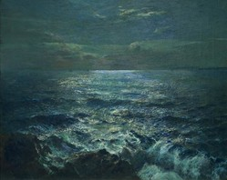 Moonlight by Julius Olsson