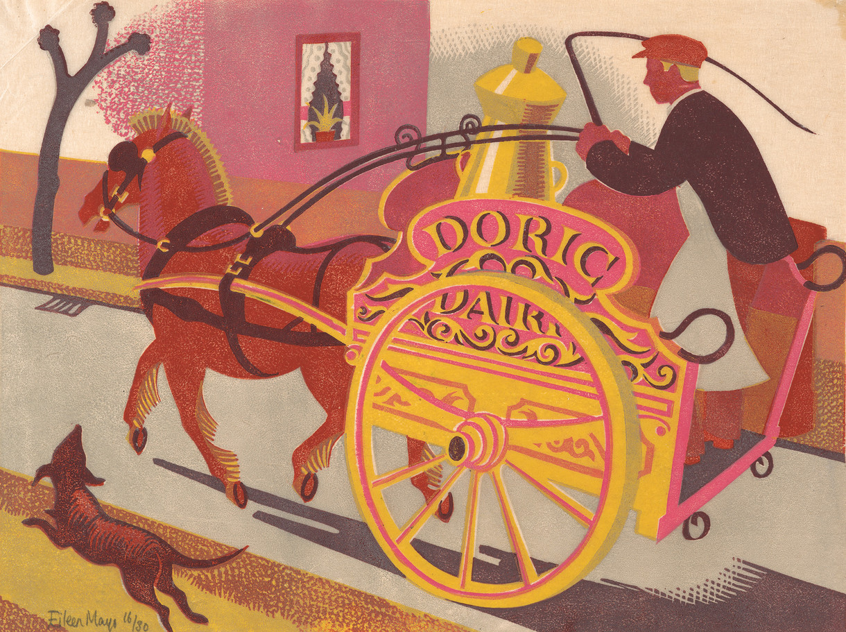 Colouring in: Doric Dairy