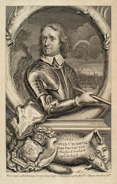 Oliver Cromwell, Lord Protector of England, Scotland and Ireland, 1653