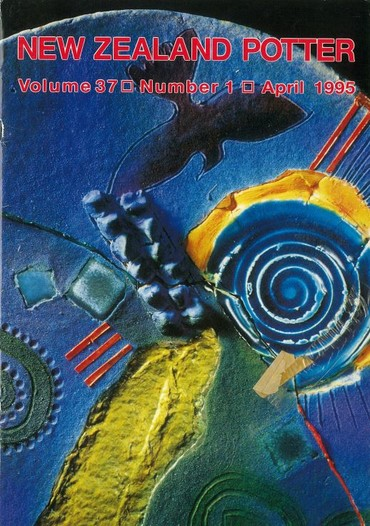 New Zealand Potter volume 37 number 1, April 1995