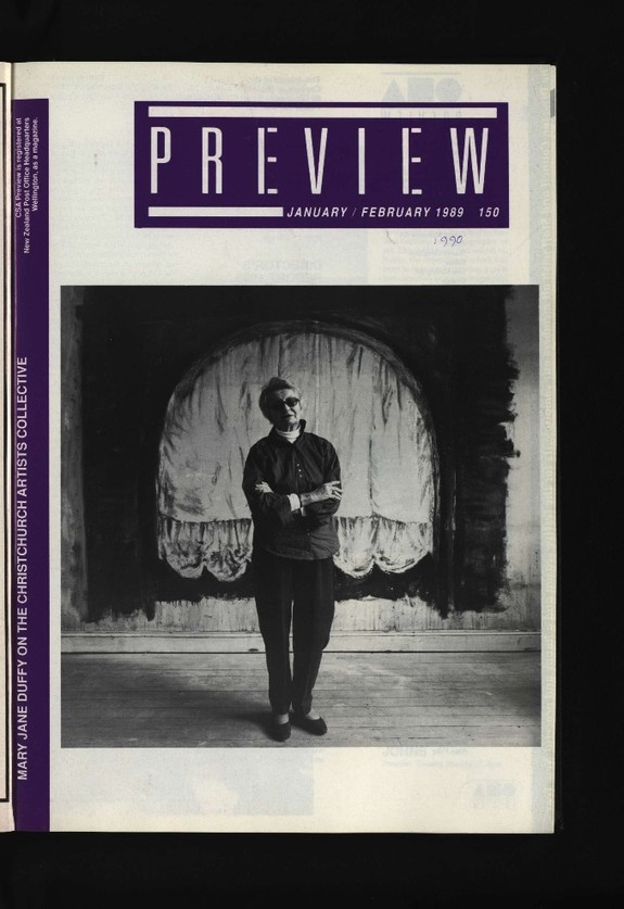Canterbury Society of Arts Preview, number 150, January/February 1990