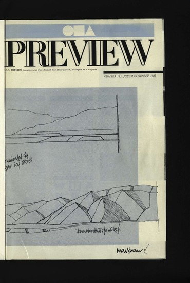 Canterbury Society of Arts Preview, number 135, July/August/September 1987
