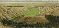 Canterbury Plains From Cashmere Hills