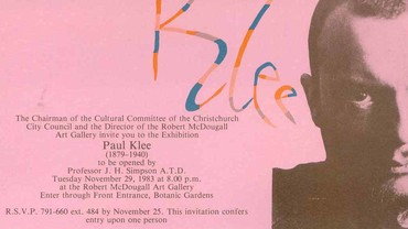 Paul Klee Opening Address